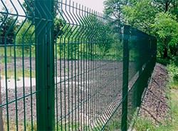Забор из сварной 3D  сетки Gitter